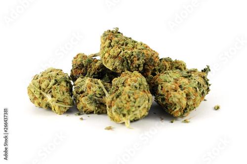 Fotomural  Pile of Weed