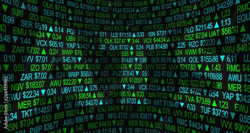 Photo ATS Automated Trading System Alternative Stock Market Process 3d Illustration