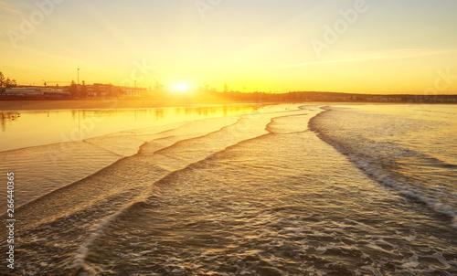 Foto auf Gartenposter Gelb Schwefelsäure Beautiful Atlantic Ocean landscape somewhere between Agadir and Essaouira