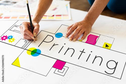 Printing Fototapeta