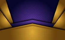 Elegant Gold And Purple Luxury...