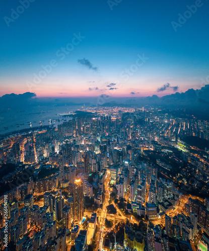 noc-dzielnicy-kowloon-hongkong
