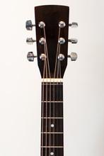 Acoustic Guitar Headstock Clos...