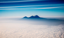 Mount Kilimanjaro From The Sky
