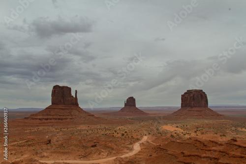 Monument Valley Desert Landscape Utah