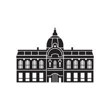 Prague Municipal House Icon