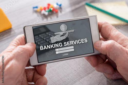 Concept of banking services