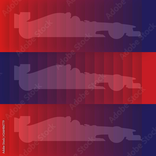 Photo  Formula 1, gradient, background, multicolored, poster, 2019, layer gradient