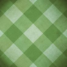 Vintage Green Diamond Pattern