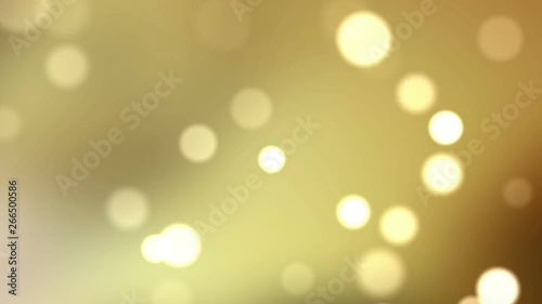 Fotografie, Obraz  Abstract particle bokeh background