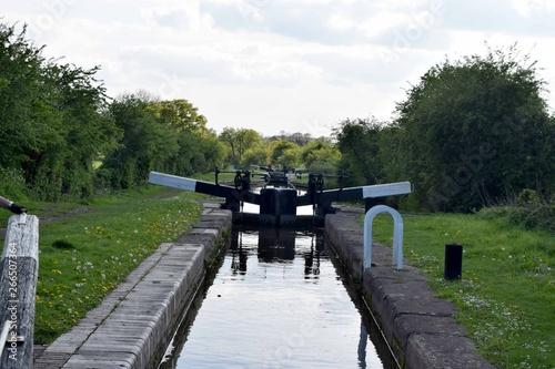 Keuken foto achterwand Canal boating views
