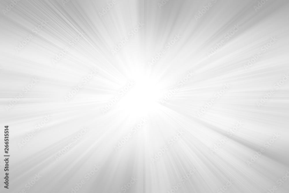Fototapety, obrazy: Radial abstract background. Grey gradient ray burst background