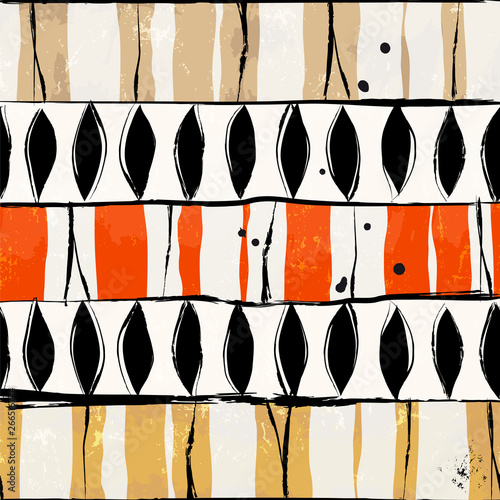 abstract pattern background, with stripes, oval, strokes and splashes