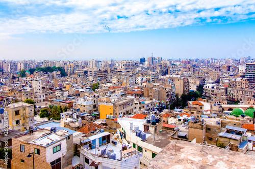 Cityscape of Tripoli in Lebanon