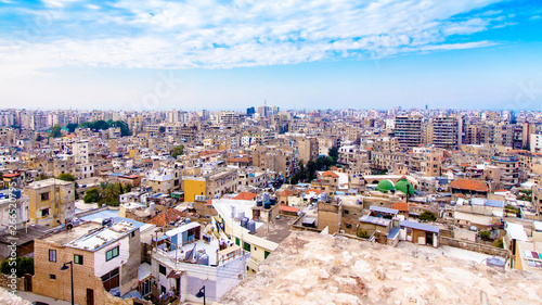 Cityscape of Tripoli in Lebanon