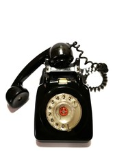A Vintage And Antique Telephon...