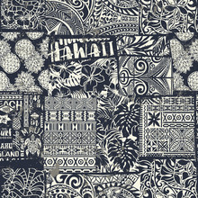 Hawaiian Style Fabric Patchwor...