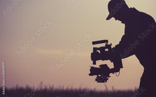 Gimbal Camera Operator Fototapeta