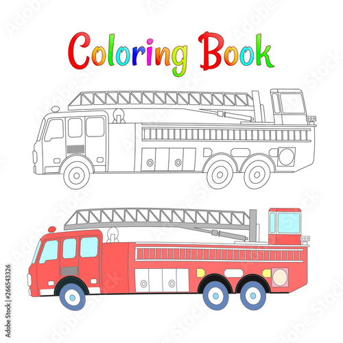coloring pages for kids vector