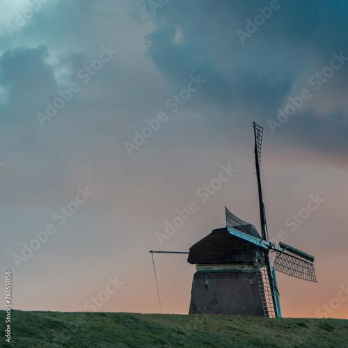 Fototapety, obrazy: The big mill / De grote molen,  Schellinkhout the Neterlands