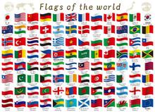 世界国旗のセット素材...