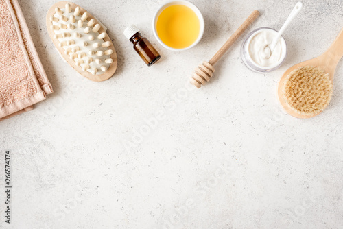 Photo sur Toile Spa Honey and Cream Spa