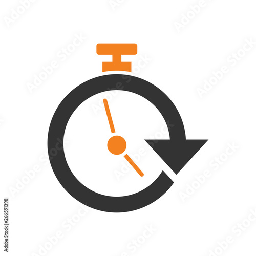 Delivery related icon on background for graphic and web design Fototapet