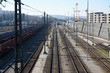 Electric cables in railway in very good condition in Germany