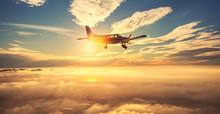 Small Single Engine Airplane F...