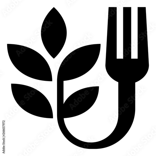 Farm To Fork Vector Icon Wall mural