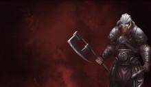 Fantasy Norse Viking. Warrior ...