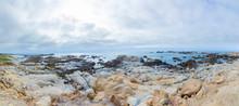 Scenic Beach Landscape With Ro...