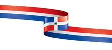 Dominicana Flag, Vector Illust...