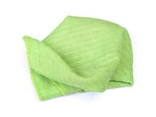 Crumpled Green Rag