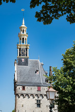 Tower Of Main Tower, Hoofdtoren, Hoorn, The Netherlands
