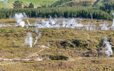 Craters of The Moon, landscape of beautiful geysers, Taupo - New Zealand - 266685397