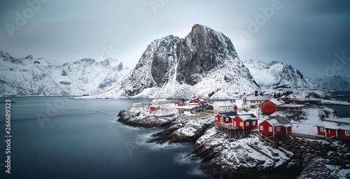Obraz na plátně  Skandinavischer Winter