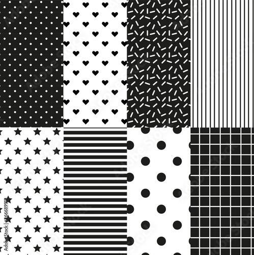 Türaufkleber Künstlich Seamless Pattern Background Vector