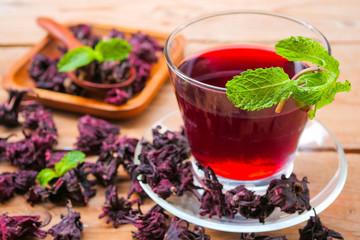 roselle juice (healthy drink)