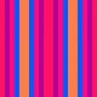 canvas print picture - vertical motion lines pastel red, medium violet red and dodger blue colors. abstract background with stripes for wallpaper, presentation, fashion design or web site