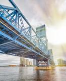 John T. Alsop Jr. Bridge in Jacksonville, FL. It is a bridge crossing the St. Johns River - 266700335