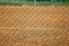 Green Wire Mesh Of Fencing Of ...