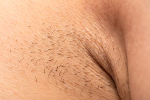 Unshaved Armpit Close Up