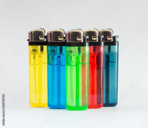 Briquet de couleurs Canvas-taulu