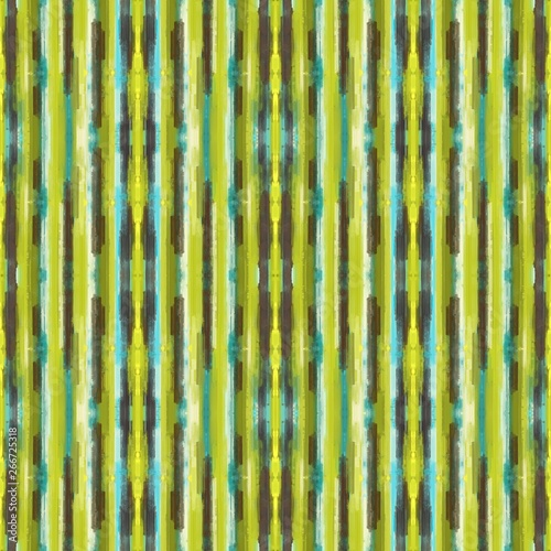Abstract Painted Weathered Material With Yellow Green