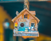 Small Wood Bird House