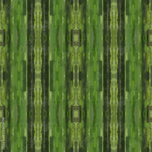 seamless brushed painting pattern with dark olive green, very dark green and dark khaki colors. endless background for wallpaper, fashion design or printable products #266730398