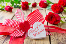 German All The Best And Love To Mothers Day