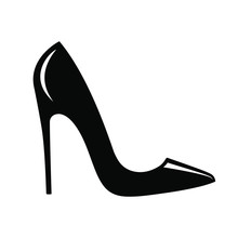 High Heel Shoes Icon. Isolated...