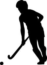 Field Hockey Women 5 Isolated ...